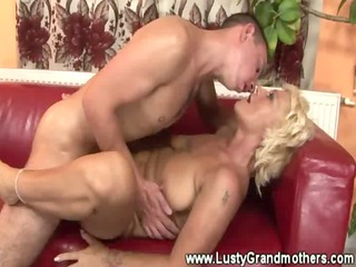 older hairy granny gets pounded and t live