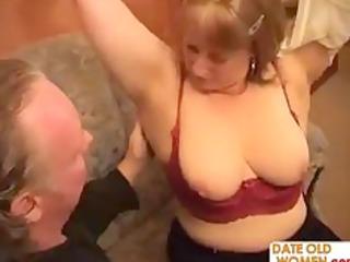 chubby grandmother goes wild