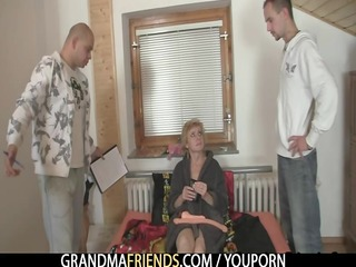 lonely granny gives her love tunnel