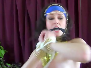 hot breasty belly dancer