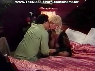 candy samples is a blond vintage porn hottie with