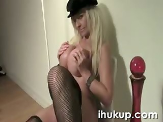 golden-haired bombshell kelley shows her w