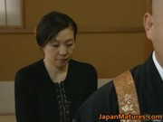 japanese mature lady is in for threesome hawt
