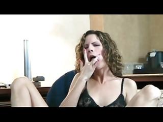 wife maturbating to big o