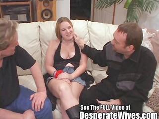 jenna - cuckold spouse vinnie eats a ball cream