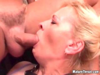 sexy mature bitch getting screwed