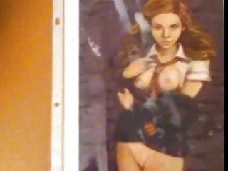 hermione granger (emma watson hentai pic)