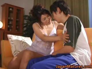 horny japanese aged hotties engulfing part1