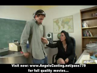 badass mother i does oral-service and titsjob for