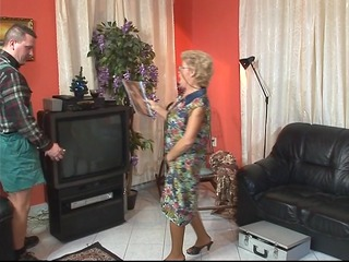 granny services the tv service man pt 11