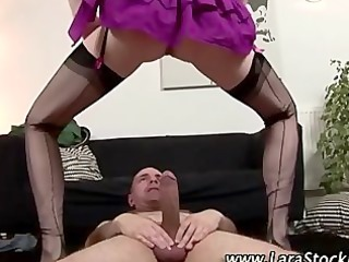 naughty european nylons whore receives drilled