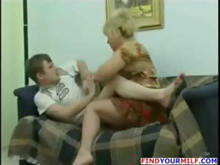 cougar mamma wish to fuck son