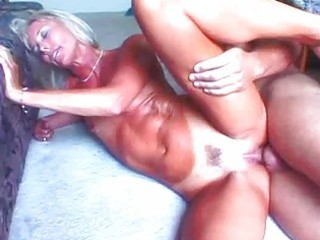 hot blonde granny toys her love tunnel previous
