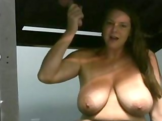 carrie cook jerking in a hole