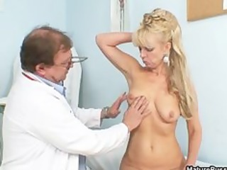 blond aged mom acquires fulyl examed part6