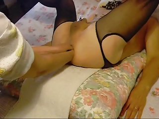 non-professional wife fisting her sissy-boy