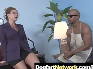 cougar fucks a biggest black monster knob