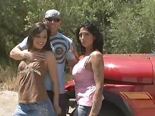 hawt busty cougar ricki raxx and friends trio