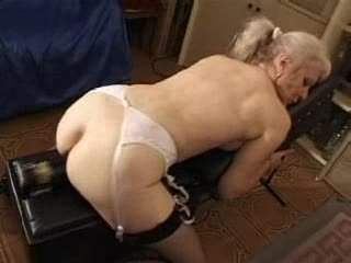 french shaved blonde granny pt82
