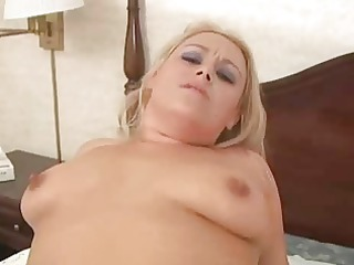 a bulky honey receives fucked and swallows