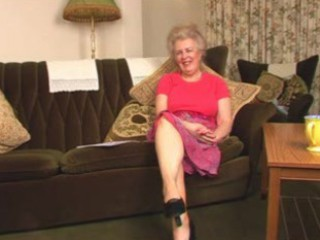 alluring hairy old granny fingering intro