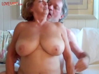 granny milk sacks and ass, granny blond older