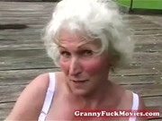 check out this obscene grandma