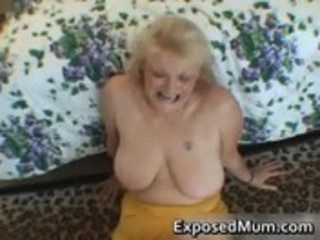 wicked mommy shows her juggs and sucks pounder
