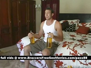 boyz at home in their room drinking