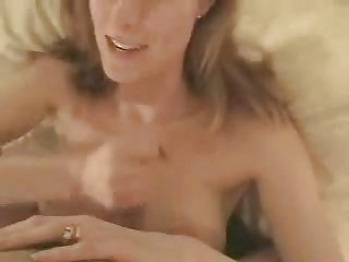 hawt mom engulfing large jock and getting a facial