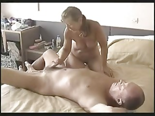 mature dilettante wife wanks off her spouse !
