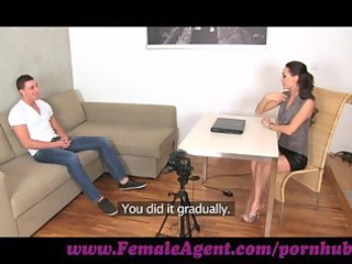 femaleagent. youthful stud despairing for work