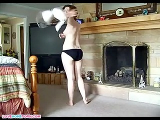 chubby lady on her boyfriend