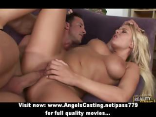 swinger foursome with blond wives screwed hard