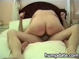 wife with large a-hole rides husbands rod