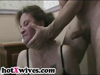 horny ex wife receives coarse mouth fuck