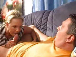 blond cubby aged german wife