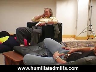 milf whore interracial gang group sex