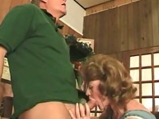 incredibly drilled older bitch