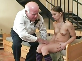 old grandpa fucking young hottie