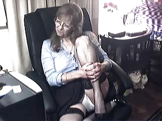 fascinating granny with glasses 2