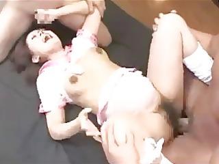 pregnant japanese gets dped