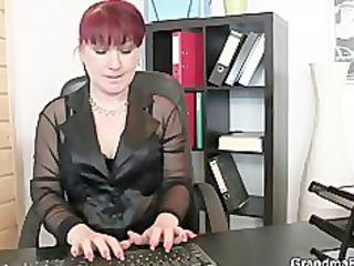 cocksucking aged lady riding knob