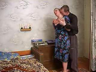 older breasty lady seduces neighbour chap with