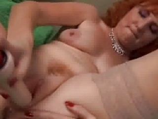 redhead aged can not squirt
