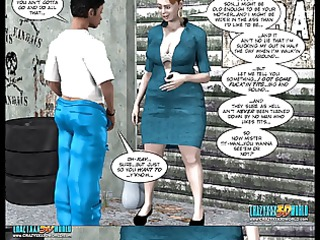 8d comic: the chaperone. movie 6