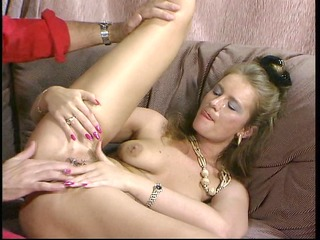 mature golden-haired t live without double