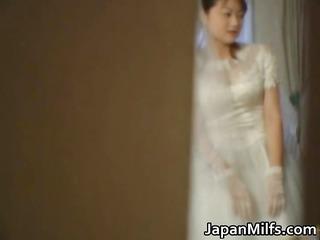 asian bride receives hardcore group fucking part2