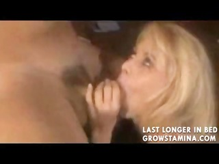scenes, one with a blond getting fucked and one