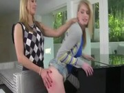 milf thrashing her hot legal age teenager and